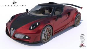 Alfa Romeo 4C Definitiva by Lazzarini Design 2014 года